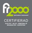FR2000 Certifiering Hisingens Sotnings AB